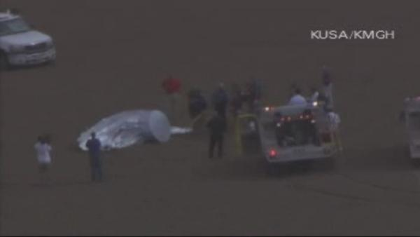 Runaway balloon in Colorado