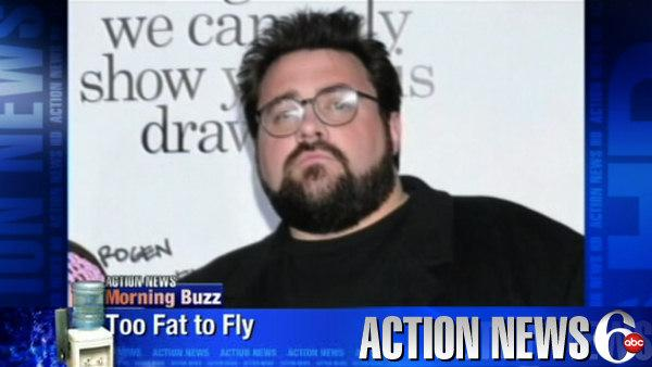 Hollywood Director told he was too fat to fly