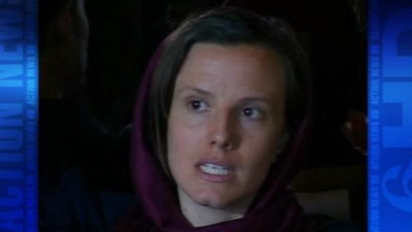 Female hiker finally freed from Iran