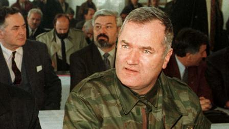 ** FILE **An undated file photo of former Bosnian Serb military commander Gen. Ratko Mladic at Mt. Jahorina, Bosnia.