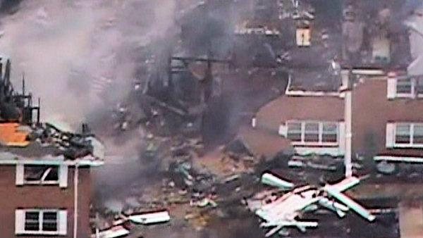 Navy jet crash in Virginia Beach, Va.