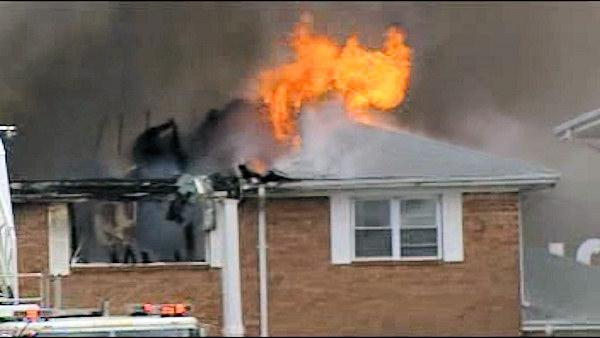 Navy jet crashes into apartment building in Va.