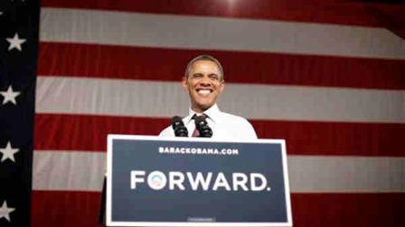 President Barack Obama smiles as he speaks at a campaign event at Rollins College, Thursday, Aug. 2, 2012, in Orlando, Fla. Obama was campaigning in Florida and Northern Virginia. (AP Photo/Pablo Martinez Monsivais)