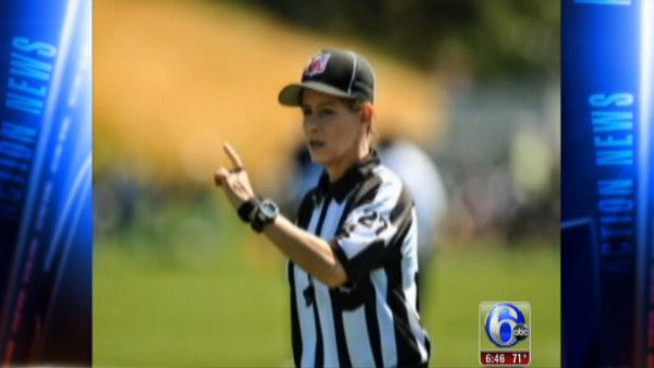 NFL's first female ref