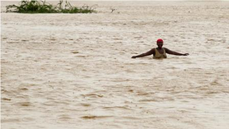 Tropical Storm Isaac swept across Haitis southern peninsula early Saturday, dousing a capital city prone to flooding and adding to the misery of a poor nation still trying to recover from the 2010 earthquake. (AP Photo/MINUSTAH, Logan Abassi)