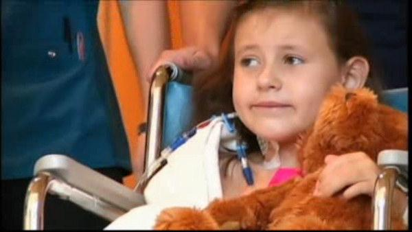 Girl, 7, recovering from bubonic plague