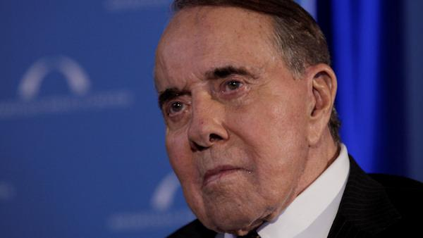 Bob Dole hospitalized for routine procedure