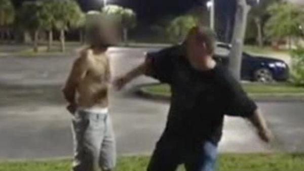 2 arrested in beating of Florida homeless man