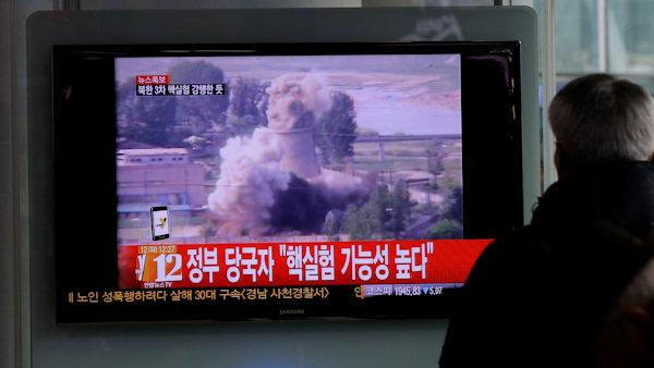 Earthquake detected in North Korea near nuke site