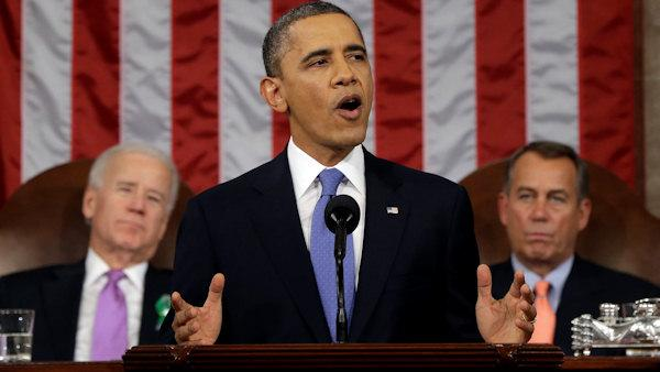 Obama speech: Big new theme, some familiar content