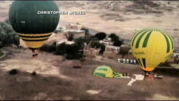 Fiery balloon accident kills 19 tourists in Egypt