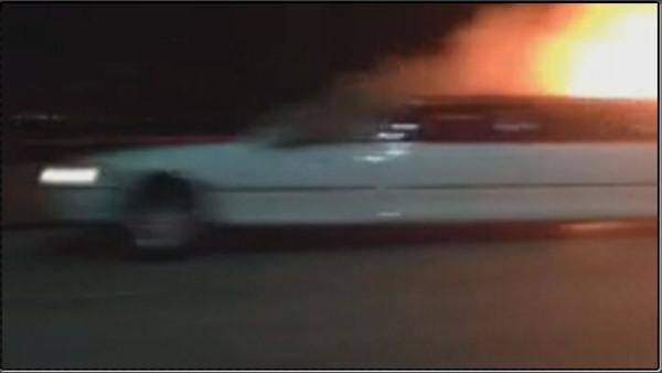 Fatal California limo fire