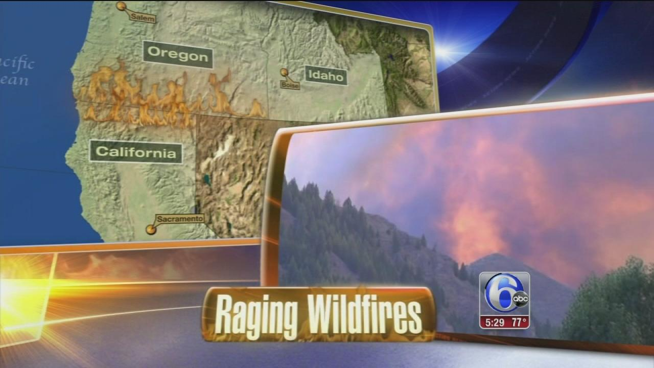 Wildfires: Some Idaho, Utah residents return home