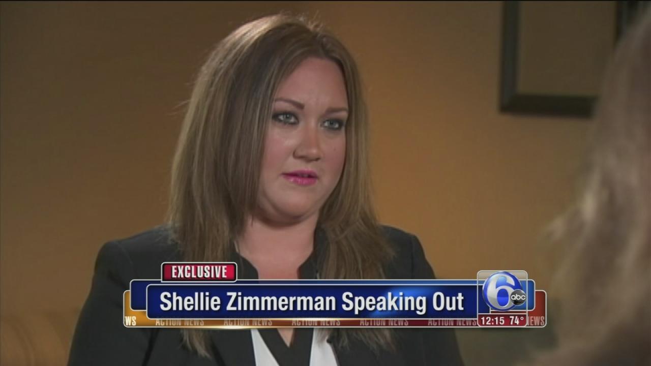 Zimmermans wife speaks out