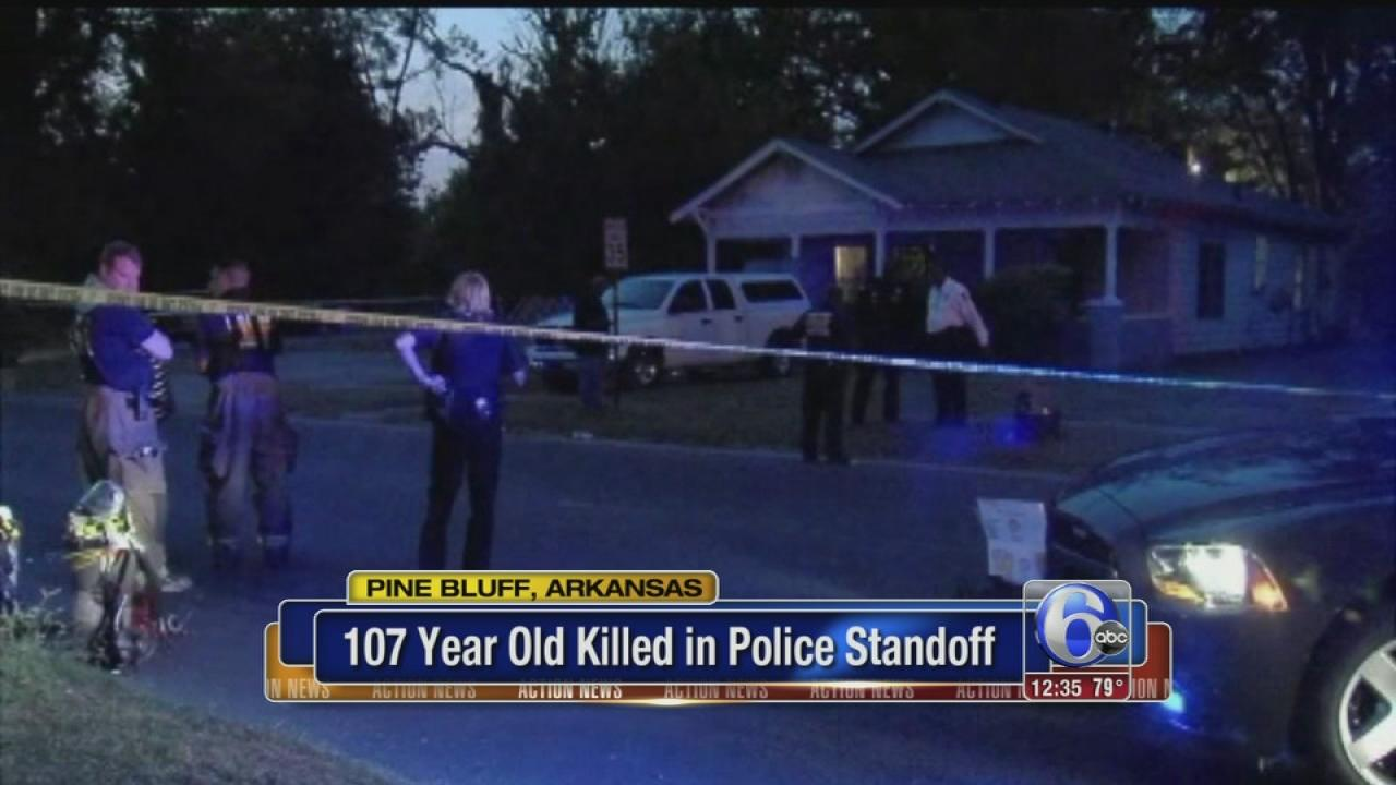 107 year old killed in police standoff