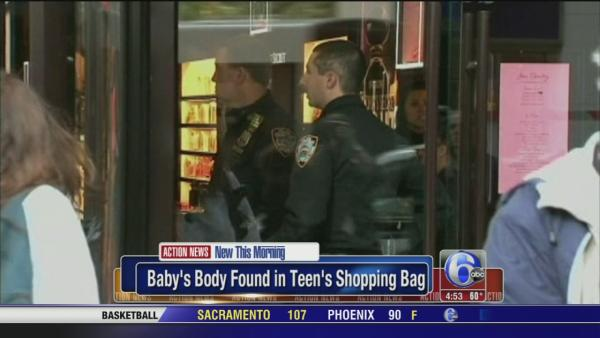 Teen brought dead fetus to Victoria's Secret, police say