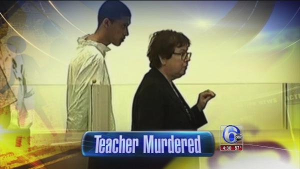 Teen charged as adult for teacher's murder