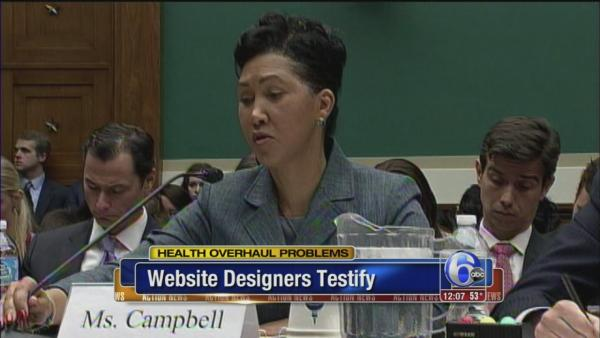 Website problems are target at Hill hearing