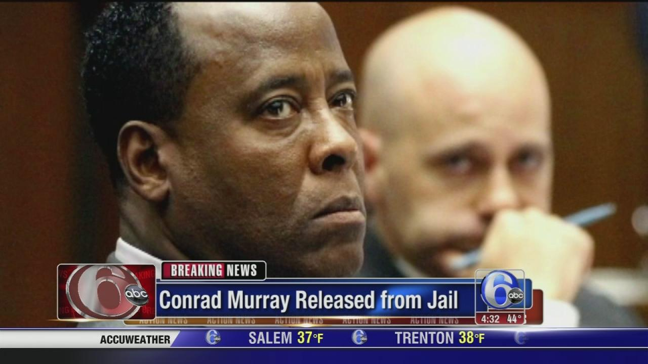 Conrad Murray releleased from Jail