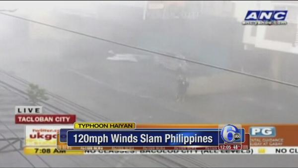 One of world's strongest storms blasts Philippines