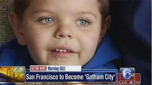 Making boy's 'Batman' dream come true