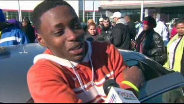 Teen gets a car for $1 on Black Friday