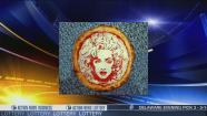 video: Scotland artist shows off his celebrity pizzas