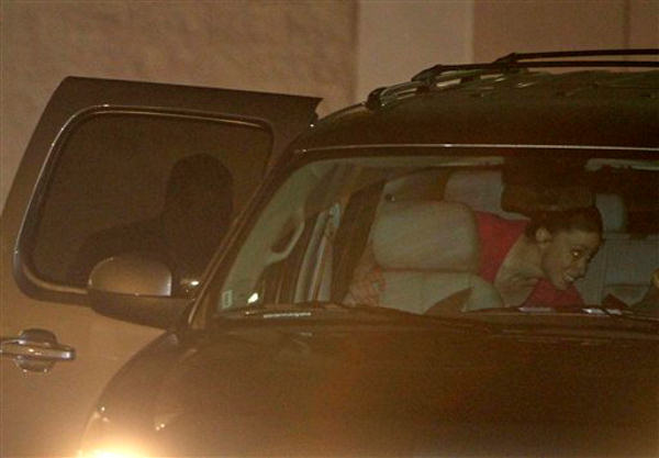 Casey Anthony, right, climbs into an SUV with her lawyer Jose Baez, left, after her release from the Orange County Jail in Orlando, Fla., early Sunday, July 17, 2011. Anthony was acquitted last week of murder in the death of her daughter, Caylee. <span class=meta>(AP Photo&#47;John Raoux)</span>
