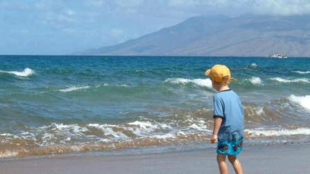 David Murphys kids travelled well to Hawaii, despite the distance.