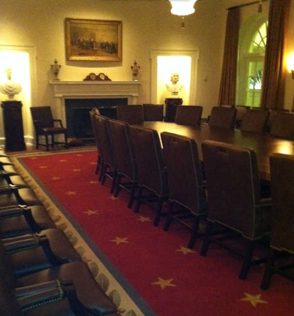 Action News' Brian Taff was at the White House on November 1, 2011 to interview President Barack Obama.
