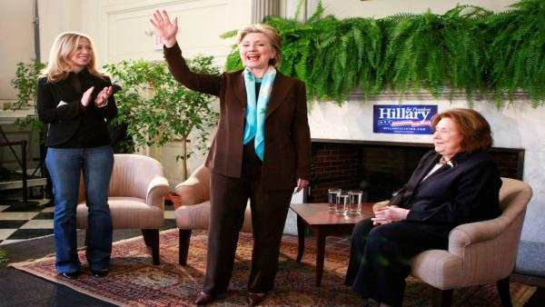 VIDEO: Clinton campaigns at Haverford College