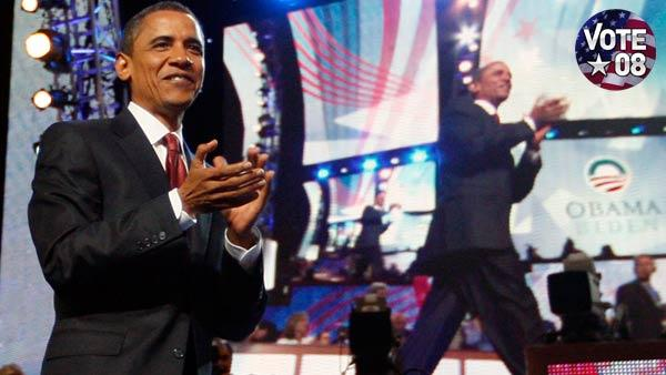 VIDEO: Obama's historic night