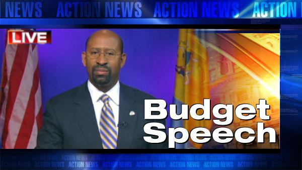 VIDEO: Mayor Nutter's budget speech