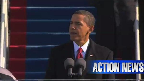 VIDEO: President Obama's inaugural speech