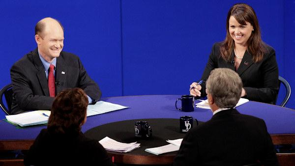 O'Donnell, Coons spar in lively Senate debate