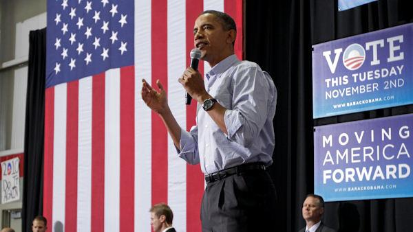 Obama rallies for Dems in Philly