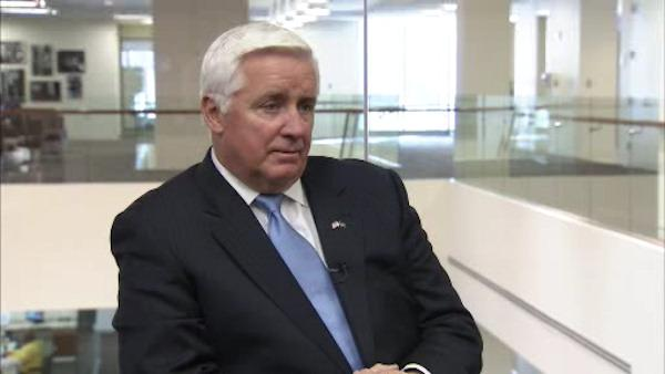 Brian Taff's interview with Gov. Corbett - Part 1