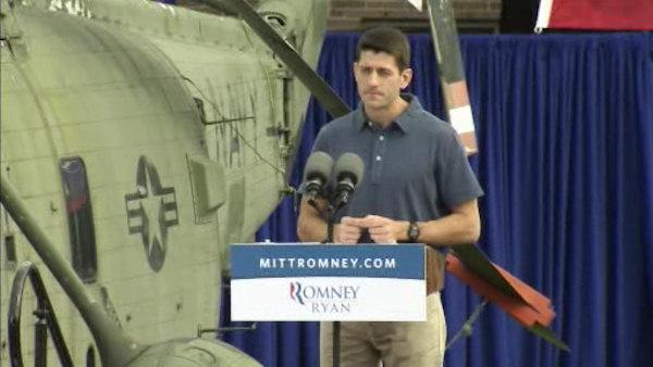 Ryan campaigns in Chester Co., Center City Philadelphia
