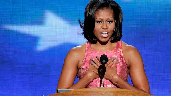 Michelle's message: The president is just like you