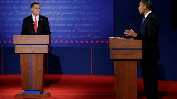 Obama, Romney meet in first debate