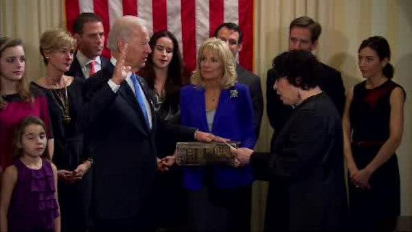 Biden sworn in to second term