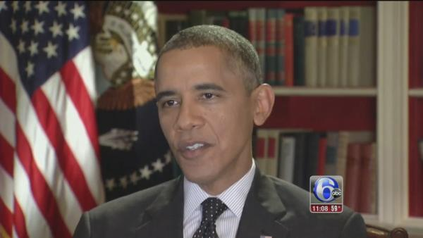 Pres. Obama speaks to Action News