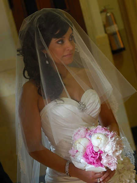 Alicia Vitarelli's wedding in 2007