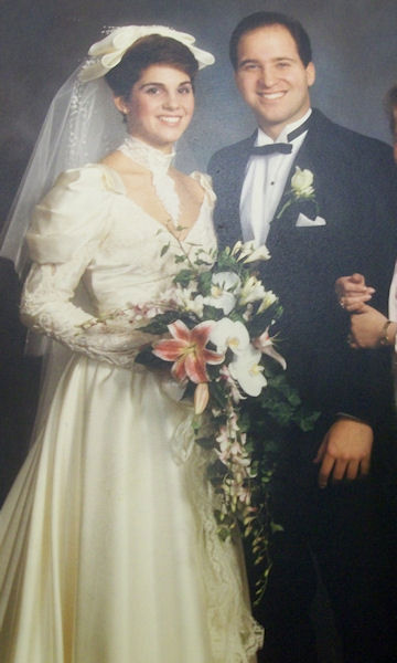 "<div class=""meta ""><span class=""caption-text "">Amy Buckman's wedding in 1987</span></div>"