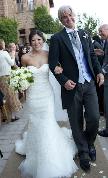 Nydia Han's wedding in 2010