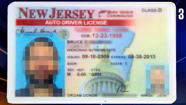 fake driving licence template - fake nj drivers license template sdealporro1987