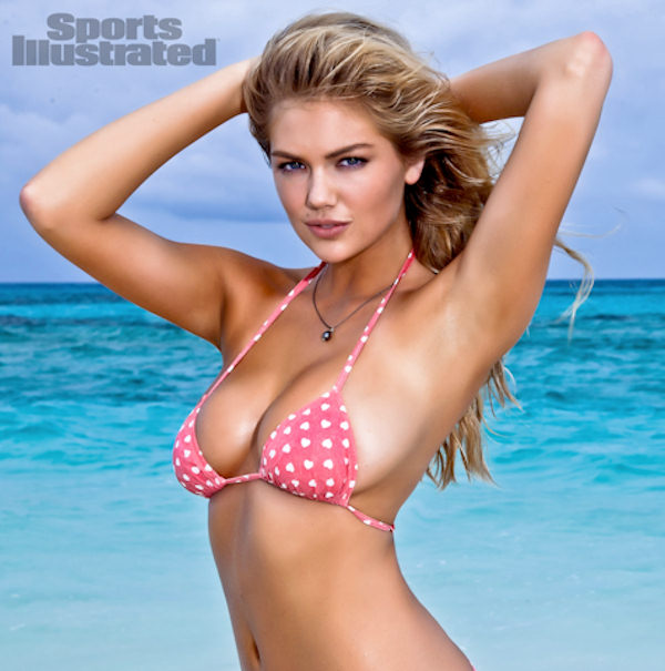 "<div class=""meta image-caption""><div class=""origin-logo origin-image ""><span></span></div><span class=""caption-text"">In this image released by Sports Illustrated on Monday, Feb. 13, 2012, model Kate Upton is shown in a photo from the ""Sports Illustrated 2012 Swimsuit Issue."" Upton also graces the cover of the double issue now on sale at newsstands, tablet, mobile and at SI.com/Swimsuit. (AP Photo/Walter Iooss Jr. for Sports Illustrated)</span></div>"