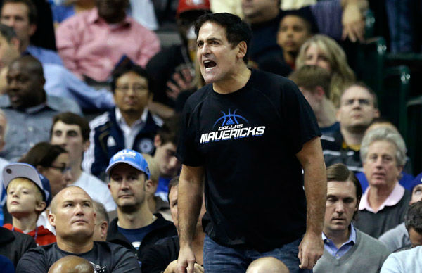 "<div class=""meta image-caption""><div class=""origin-logo origin-image ""><span></span></div><span class=""caption-text"">January 2014: Mark Cuban, Mavericks (NBA). Fined $100,000 for confronting referees after a loss. Cuban has been fined several other times for similar incidents, with the total amount believed to be $2 million. (ESPN) (AP Photo/ LM Otero)</span></div>"