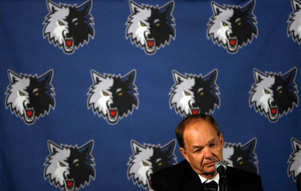 December 2000: Glen Taylor, Timberwolves &#40;NBA&#41;. Salary-cap violation for &#34;under the table&#34; deal with Joe Smith. The team was fined &#36;3.5 million and stripped of five first-round picks &#40;later reduced to three&#41;. Taylor was suspended through end of August 2001, During which time he was not allowed to attend games, negotiate contracts or speak with media. &#40;ESPN&#41; <span class=meta>(AP Photo&#47; Jim Gehrz)</span>