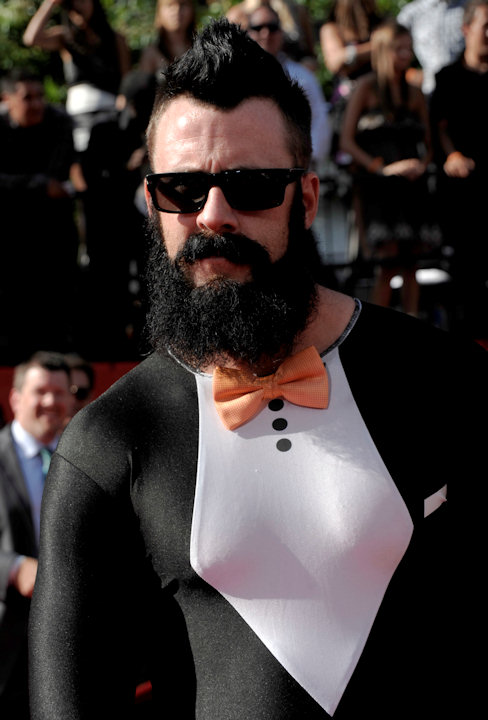 "<div class=""meta ""><span class=""caption-text "">San Francisco Giants pitcher Brian Wilson arrives at the ESPY awards on Wednesday, July 13, 2011, in Los Angeles. (AP Photo/Dan Steinberg) </span></div>"